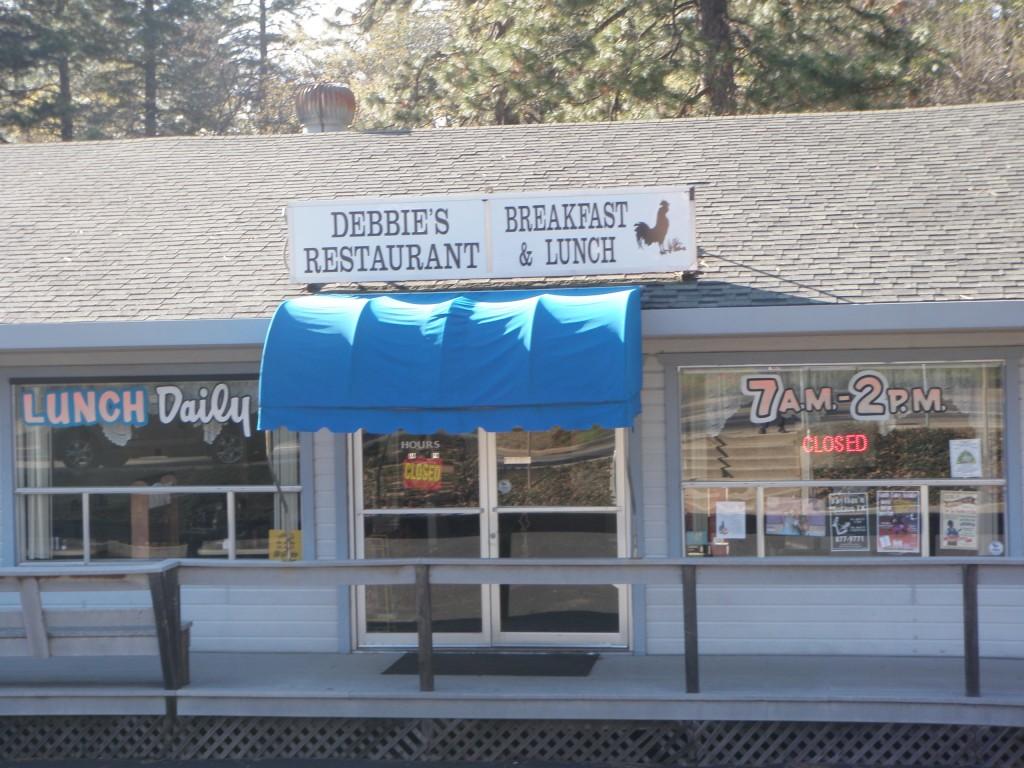 Debbie's Restaurant in Paradise, CA